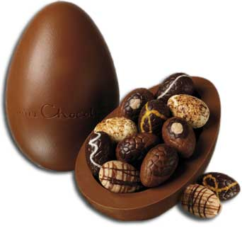 Buy english easter eggs and christmas goodies in england virtually every type of chocolate is available as an easter egg the eggs are thin plainmilk or white chocolate including the barpackets of the negle Choice Image