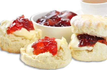 British Tea, Scones and Jam